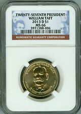 2013 D NGC MS66 $1 27TH PRESIDENT WILLIAM TAFT DOLLAR, BRIGHT!