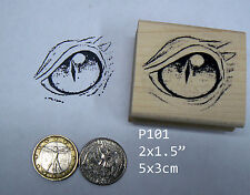 P101 Large Dragon's Eye Rubber Stamp