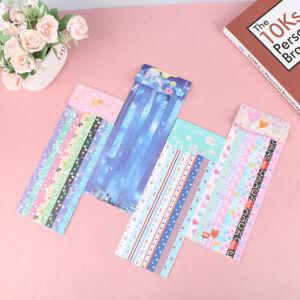 Folding Paper Lucky Pattern Origami Craft Handmade Home DIY Card Gift Decorat`