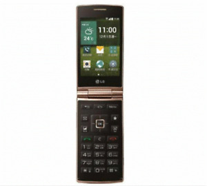 4G LTE LG Wine Smart D486 4G ROM 1G RAM Android Flip Phone WIFI GPS Smart Phone