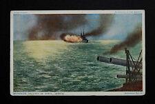 1916 WW1 Postcard HMS Africa Battleship Stubbings Queens Road Barking Essex