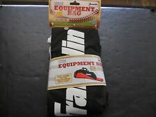 "Franklin Sports Senior Equipment Bag Black & Red 36"" x 10"" x 7"" New In Package"