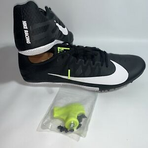 NEW Nike Zoom Rival S Racing Track & Field Spike Shoes 907564-017 Size 12 Black
