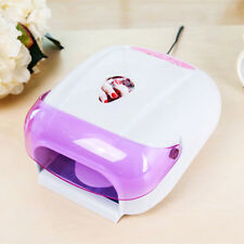 36W LED UV Lamp Nail Art Acrylic Gel Curing Light Timer Dryer Manicure + 4 Bulbs