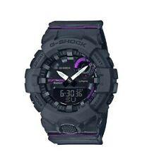 Casio G-Shock G'Squad Bluetooth Anadigi Black x Purple Accent Watch