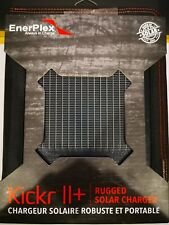 EnePlex kickr II+ Rugged Portable Solar Charger - Black - Open Box