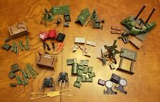 LOT GI Joe Cobra Defense Unit Outpost Ammo Dump Battle Accessories Action Pack