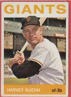 1964 Topps # 242 Harvey Kuenn - (EX) - San Francisco Giants  - Box 734-768