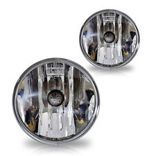 For 2015-2018 GMC Canyon Replacement Fog Lights Pair Set w/Bulbs - Clear