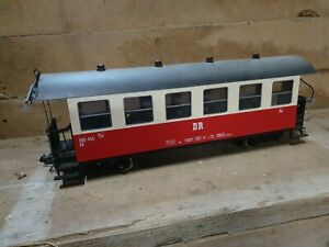 LGB Spur G 30730 Personenwagen Harz der DR - Anlagenrückbau