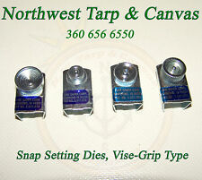 Snap Setter,Time Saver Dies, Vise-Grip Type, Snap Setting Tool - Ships from USA!