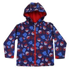 Paw Patrol Childrens Kids Lightweight Shell Jacket Rain Coat Shower Proof