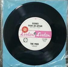 THE POGS Scenes From An Affair Vinyl Lp Record 45rpm Mega Rare 1966 Aus Promo