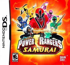 Power Rangers Samurai DS
