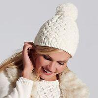 Beechfield Vermont Beanie Pom Hat Winter Warm B430 Thermal Ladies Women Band