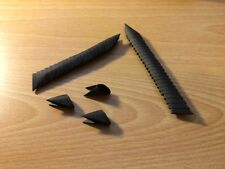 3D Origami Pieces Color: Black (275 pieces per order)