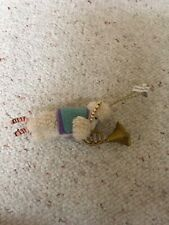 2 Anthropologie Christmas Ornament Sheep Horn Ram Set Lot of 2 Nwt (Other)