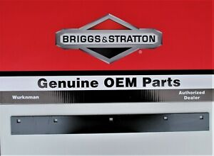 "Genuine OEM Briggs & Stratton 1709946ASM  Scraper Blade for 24"""