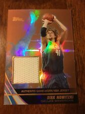 """2004-05 Topps Jersey Edition - DIRK NOWITZKI - """"Copper Edition""""  #'d 17 / 99"""