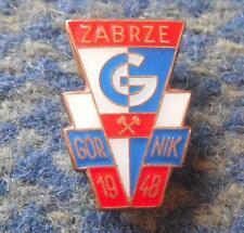 GORNIK ZABRZE POLAND FOOTBALL FUSSBALL SOCCER CLUB 2000's BRONZE PIN BADGE