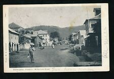 Africa SIERRA LEONE Freetown Wilberforce Street u/b PPC 1908 W S Johnston