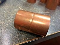 "Copper Coupling For 1-3/8"" O.D. Copper, Refrigeration Grade Air Conditioning S.R"