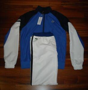 NWT Lacoste Men's Tracksuit  Size M  Color Blue / White / Navy  $250. #1