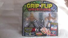WCW Grip 'N Flip Scott & Rick Steiner Action Figures From Toy Biz 1999  NEW t702