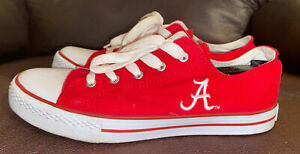Campus Footnote Shoes ALABAMA CRIMSON TIDE Women's Size 8.5 Canvas