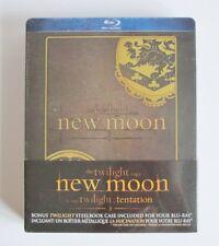 THE TWILIGHT SAGA NEW MOON BLU RAY + STEELBOOK CASE - BRAND NEW / SEALED
