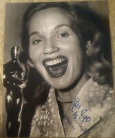 EVA MARIE SAINT SIGNED 8X10 PHOTO OSCAR WINNER ON THE WATER W/COA+PROOF RARE WOW