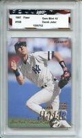 1997 Fleer #168 Derek Jeter AGC 10 Gem Mint New York Yankees