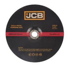 "22.23mm Bore  JCB (9"") 230mm x 6mm METAL CUTTING DISC's (8322) x ONE  Disc"