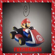 CUSTOM NINTENDO MARIO KART BROS RACE CAR VIDEO GAME FIGURE CHRISTMAS ORNAMENT