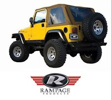 Rampage Frameless Trail Top w/ Tint - Spice fits 1997-2006 Jeep Wrangler TJ