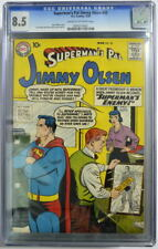 Superman's Pal JIMMY OLSEN 35 CGC 8.5 DC 1959 3rd Highest Grade Only 3 Higher