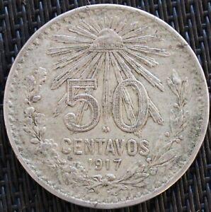 Mexico 50 Centavos 1917