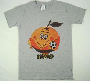 Espana 82 Naranjito Football World Cup 80s Retro Grey T-Shirt S-XXXL Soccer Ciao