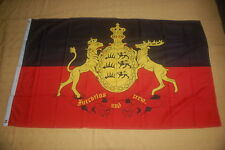 Königreich Württemberg furchtlos und treu Flagge Fahne Hißfahne 150 x 90 cm