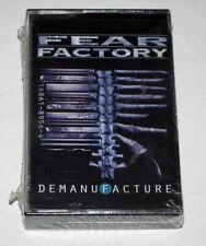 FEAR FACTORY - DEMANUFACTURE  CASSETTE SEALED