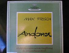 Max Frisch  ANDORRA Uraufführung Schauspielhaus Zürich 1961  - 2LP Box Booklet