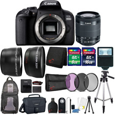 Canon EOS 800D / T7i 24.2MP Digital Camera + EF-S 18-55 IS STM Top Accessory Kit