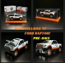 Hot Wheels RLC Exclusive '17 Ford Raptor Gulf Racing Red Line Club