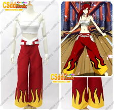 Fairy Tail Erza Scarlet Cosplay Costume red