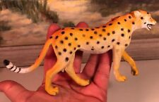 Cheetah Figurine 7� X 3.5� Collectible Pvc Toy Action Figure