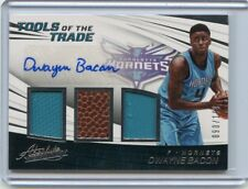 2017-18 ABSOLUTE #TT3-DB DWAYNE BACON AUTOGRAPH JERSEY ROOKIE RC #90/199 HORNETS