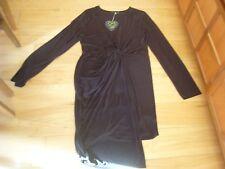 *NEW BNWT* Club L Ladies black stretch party evening wear dress - plus size 22