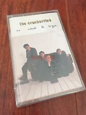 New The Cranberries No need to argue Cassette Tape Sealed 1994 Zombie Twenty One