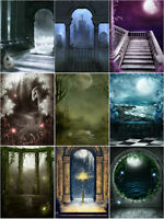 "GD Gothic Background/Backdrops Photography For 11-12"" 1/6 SD DZ DOD AOD BJD Doll"