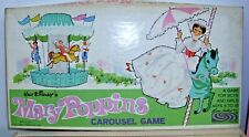 WALT DISNEY MARY POPPIN'S CAROUSEL BOARD GAME PARKER BROTHERS 1964